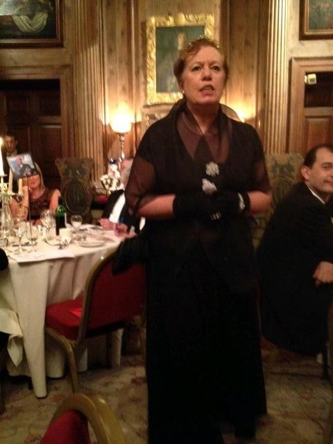 Lady Creepy-Crawley, Downfall Abby at Knebworth House